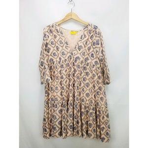 Anthropologie Roberta Roller Rabbit Paisley Dress